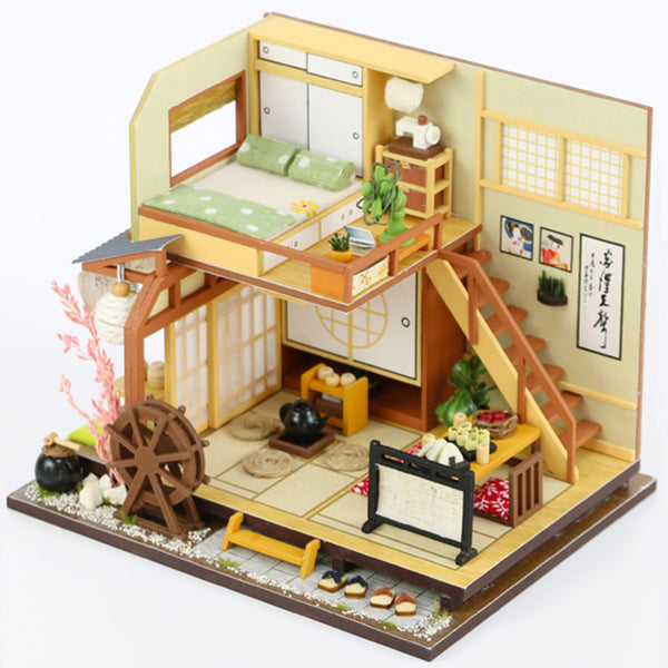 Wooden Doll Houses Miniature