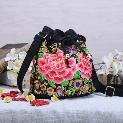 Bohemian Floral Embroidered Women