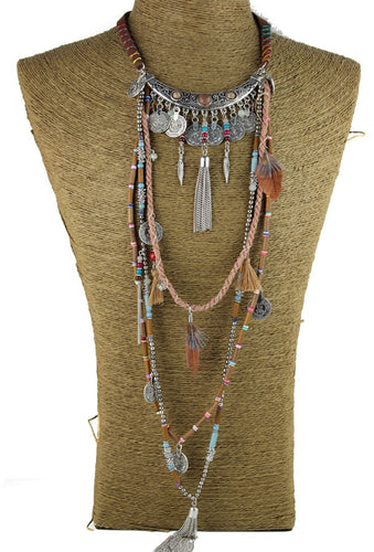 necklace tribal collar Tibet Jewelry