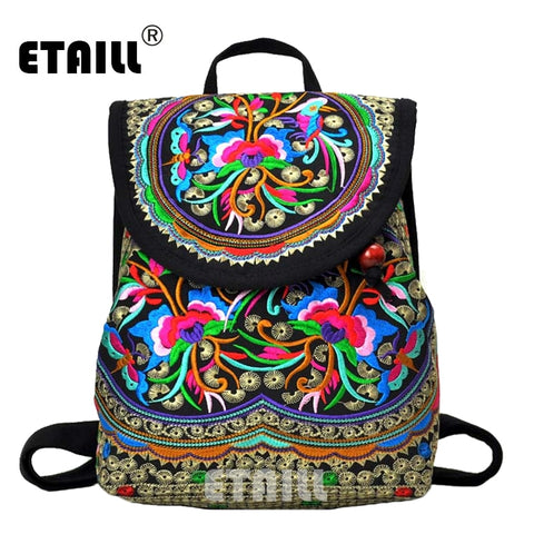 Embroidered Canvas Bags Chinese