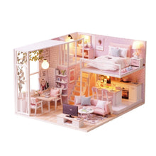 Load image into Gallery viewer, DIY Doll House Miniature Dollhouse Toys For Children Gift L022