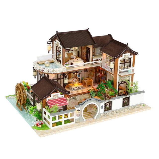 Doll House Miniature DIY  Toys For Children Birthday Gift 13848