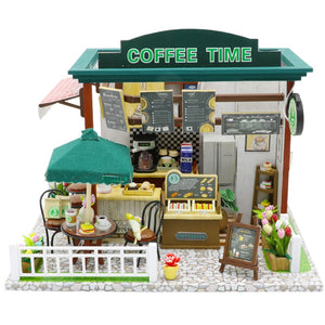Kit Wooden House Miniaturas