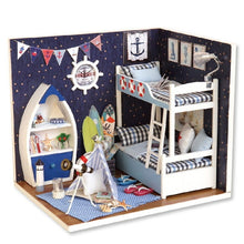 Load image into Gallery viewer, Doll House DIY Miniature Dollhouse Toy Furnitures Dolls Houses Toys Gift H012