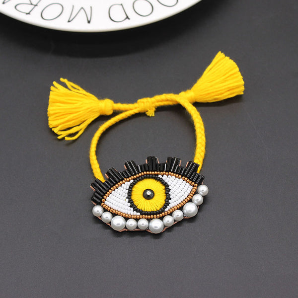 long handmade personality eye  handmade Shourouk wind accessories fashion necklace 885