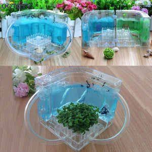 3D Ant Farm Educational Maze Live Feeding System Ants Habitat World Pet Villa