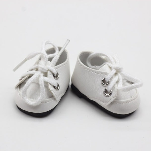 5*2.8CM Fashion Mini Toy Shoes For EXO Dolls Fit For 14.5 Inch Doll as For BJD Ragdoll Accessories