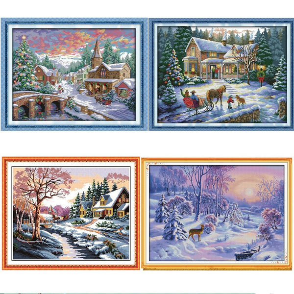 Cross Stitch Pattern Set For Embroidery Handmade