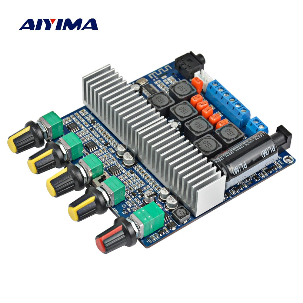 TPA3116 Subwoofer Amplifier Board 2.1 Channel High Power Bluetooth 4.2 Audio Board 2*50W+100W