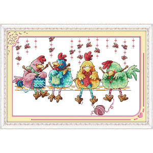 cross stitch kits stamped  sales promotion