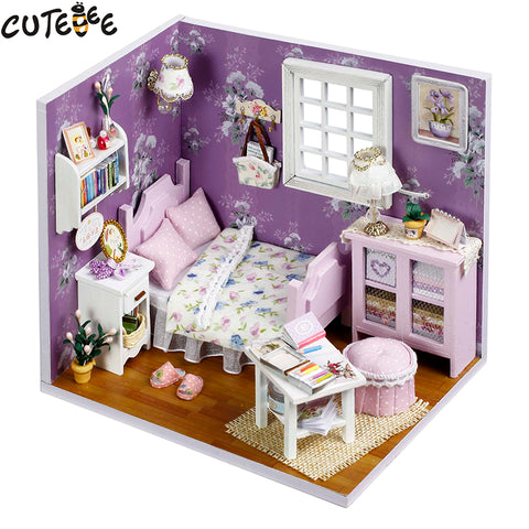Doll House Furniture Miniature Dollhouse DIY  Toys H01