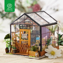 Load image into Gallery viewer, Dollhouse DIY Dollhouse with doll house furniture Toys for Children Kathy's Flower House