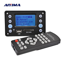 Load image into Gallery viewer, LCD MP3 Decoder Board Bluetooth 4.2 Audio Receiver APE FLAC WMA WAV Decoding Support Recording