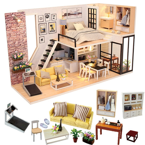 Miniature dollhouse Furniture