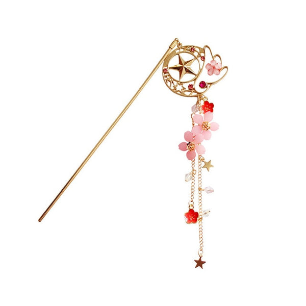 cardcaptor sakura Kanzashi hairpin hair pin accessories cute gift