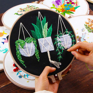 Embroidery for Beginner, DIY Art Sewing Craft