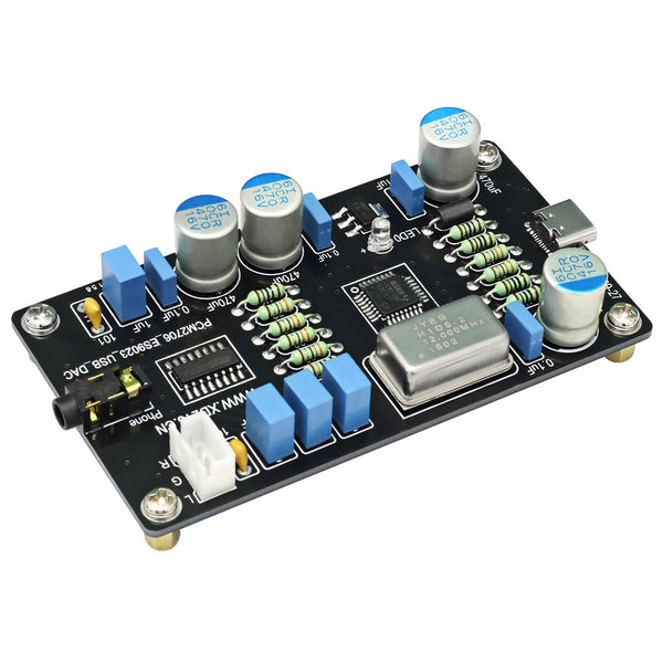 PCM2706 ES9023 USB Audio DAC Sound Card Decoder Board HI-FI Zero Noise I2S Decoding