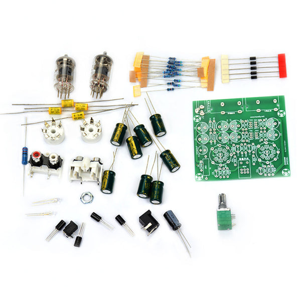 Tube Preamplifier Board Home Tube DIY Suite Electronic Pre-amp Preamplifier Buffer Valve AC 12V
