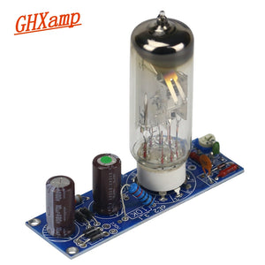 6E2 TUbe Amplifier Audi Board Tuning Indicator level Line Double Panel Electron Valve Bile Preamp