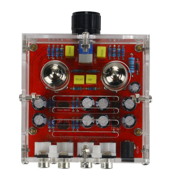 Tube Amplifier Preamplifier 6J1 With Case AC12V