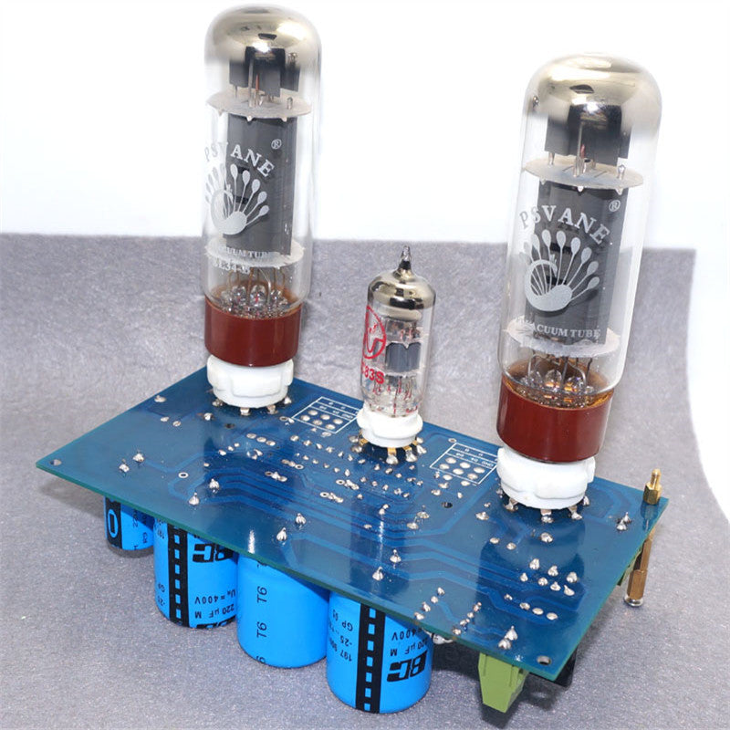 EL34 ECC83 amplifier board Single-ended Class A 2.0 tube amplifier board  diy