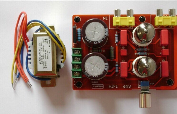 6N3 tube pre-amp board,(With transformer)/Electronic valve amplifier board