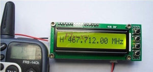 Frequency Counter Tester  0.1-1100MHz 0.11-1GHz Measurement For Ham Radio free ship free track number