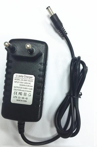 14.6V Smart Intelligent Charger 2A for 4S 12.8V LiFe LiFePO4 Battery Pack