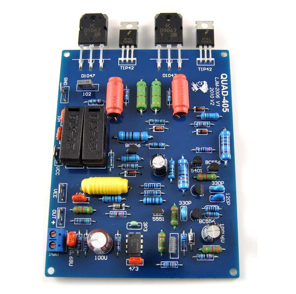 2pcs QUAD405 Audio Power Amplifier Board 100W*2 stereo audio Amplifier DIY KIT Assembled board