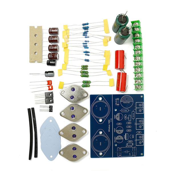 ST2N3055 Original JLH 1969 Two Channels Simple CLASS A Preamp Power Amplifier DIY kit