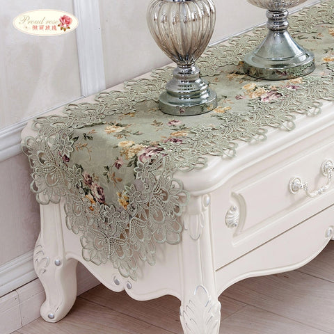 Cloth Pastoral Table Flag Table Cloth Home Decor