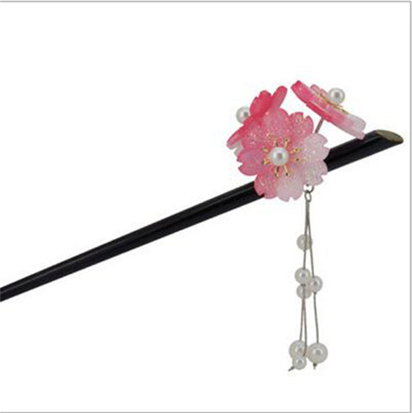 Japanese Cherry Blossoms Hair Sticks