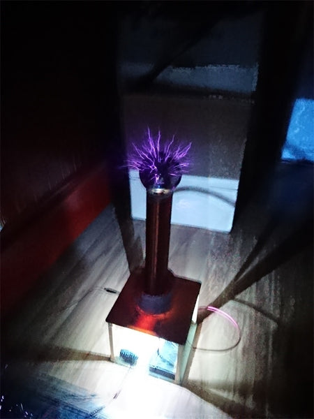 Tesla Coil Kit, DIY Technology, Wireless Transmission, Lighting, Arc Drawing, Arc Spraying