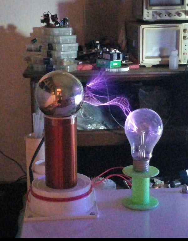 NEW Tesla coil Air Conditioner Parts
