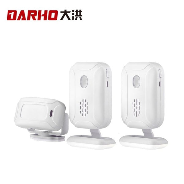 36 Ringtones Shop Store Home Security Welcome Chime Wireless Infrared IR Motion Sensor