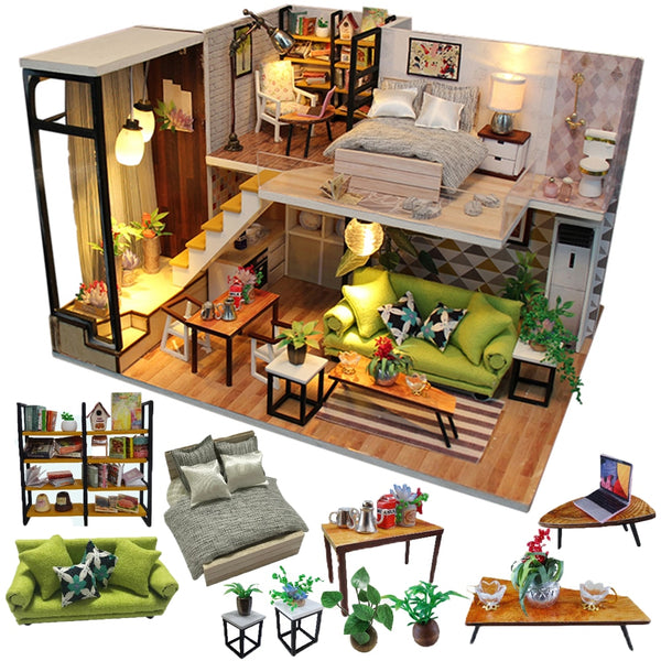 Doll House Furniture Miniature DIY Miniature
