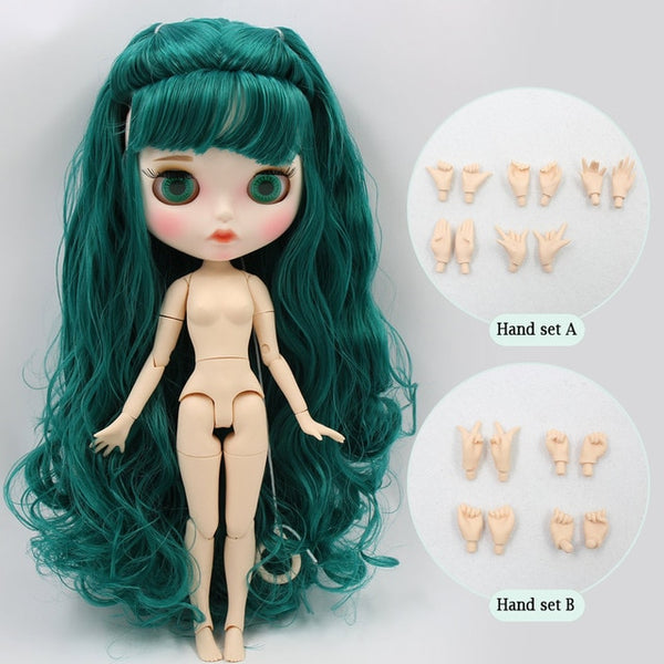 Blyth Factory doll Suitable For Dress up by yourself DIY Change BJD Toy
