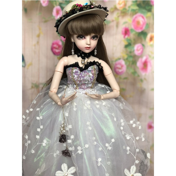 1/3 BJD 60CM Doll toys Top Quality Chinese Doll 18 Joint BJD Ball Joint for girls Modified version