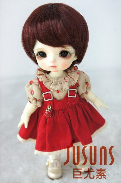 D28053 1/8 fashion doll wigs size 5-6  inch Enfant Short BJD wigs  Synthetic Mohair doll accessories