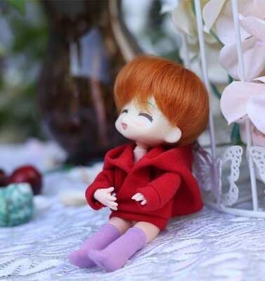 Obitsu11 OB11 cu-poche doll hoodie coat and pants suitable for 1/12 BJD OB11 doll accessories doll