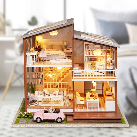 DIY DollHouse Furniture Kit Assemble