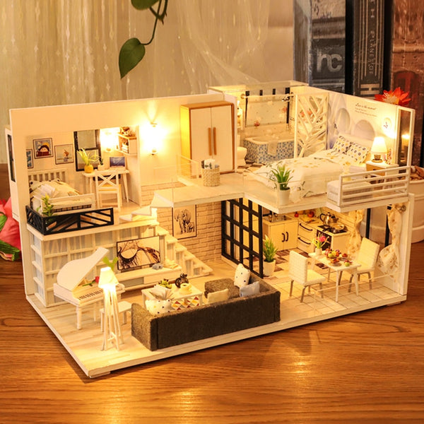 DIY Dollhouse Wooden