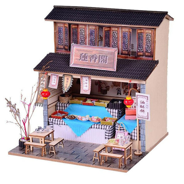 Casa Doll House Furniture Miniature DIY Miniature House Room Toys Architecture