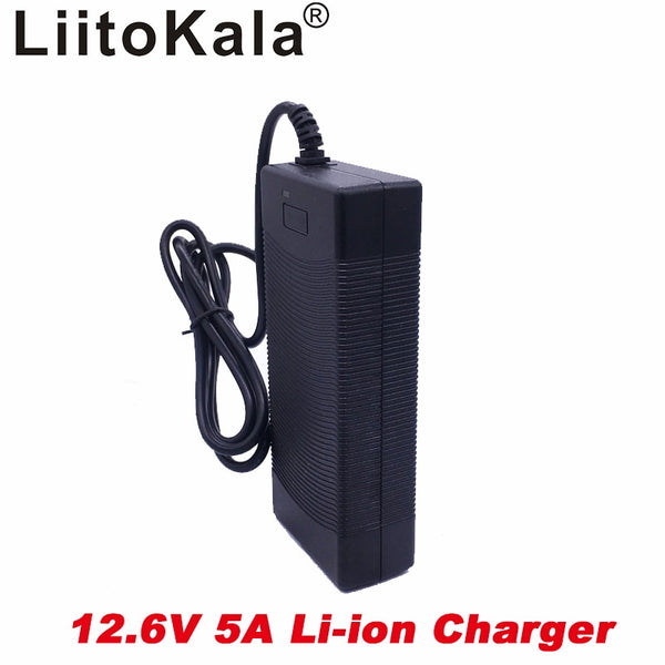 12.6V 5A power charger,12.6V charger for CCTV battery pack,5A charger for 12V lithium battery