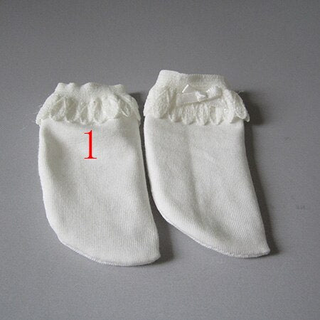 fits 1/3 1/4 1/6 BJD doll Black and white striped socks Accessories