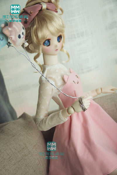 BJD doll clothes girl dress for 1/3