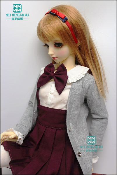 BJD doll clothes fits 1/3 1/4 1/6 feel free to match knit cardigan