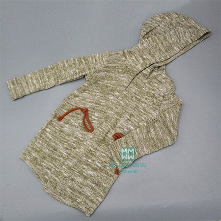 BJD doll clothes suitable for uncle fashion wild jeans T-shirt hooded cardigan