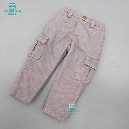BJD doll clothes fits 27cm-30cm 1/6 fashion casual suit T-shirt trousers vest coat