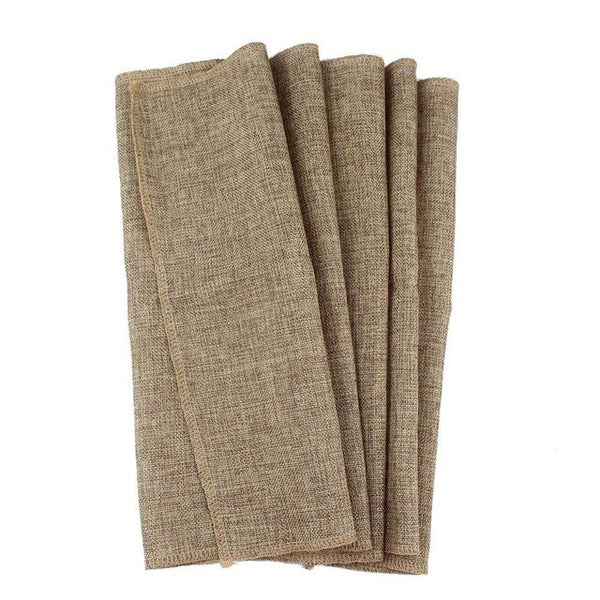Jute Burlap Table Runner Rustic Wedding Decoration Imitated Linen Table Runners